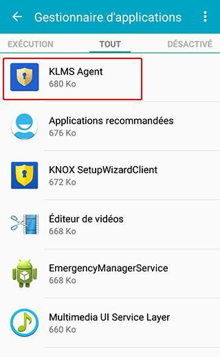 Android applications suspectes