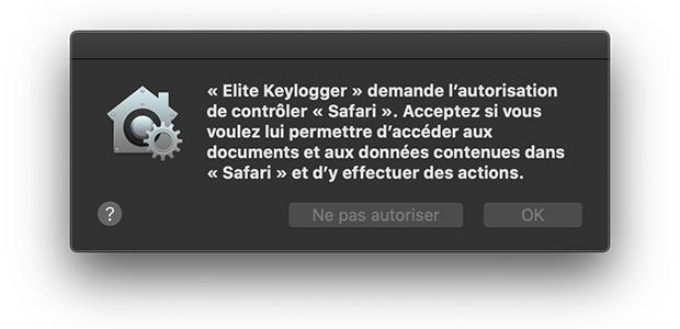 Elite Keylogger, un adware mettant en marche le canular SearchBaron