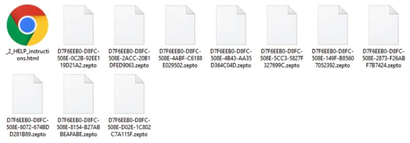 Fichiers .zepto