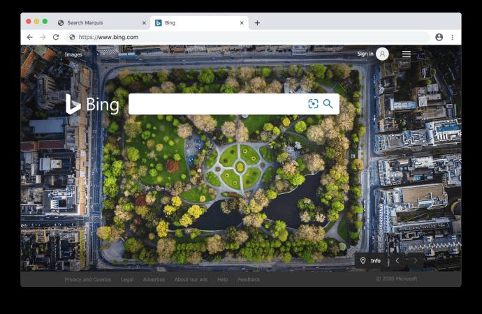 Le virus de SearchMarquis redirige vers Bing