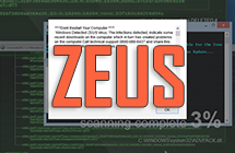 Comment supprimer l'alerte du virus Zeus dans Windows 7/8/10